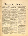 """""""Bethany Scroll,"""" Bethany Lutheran College, Mankato, Minnesota, March 1927, Volume 1 Number 5"""