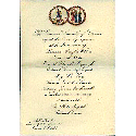 Invitation from the General Assembly of Virginia, Inaugural Committee, to Carroll Leggett