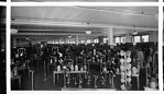 [Shop floor display of hats at The Fair department store, ca. 1930 : cellulose acetate photonegative, banquet camera format]