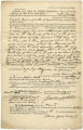 Bill of sale from Joshua Hood to Warner Gaither for Negro slave named Alexander, dated September 4, 1846