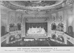 The Howard Theatre, Washington, D.C.; This magnificent theatre is owned and operated by colored citizens; The beautiful and artistic effect of the interior is an inspiration