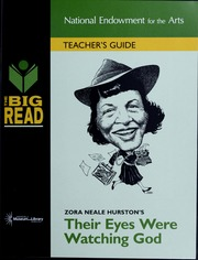 Zora Neale Hurston's Their eyes were watching God : teacher's guide