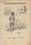 Ivory Soap. It Floats. [Print advertising.] The Century Magazine. 1891