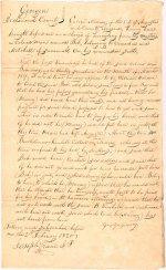 Affidavit, George Murray, Augusta, Georgia, 1820