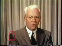 WSB-TV newsfilm clip of Mayor Ivan Allen commenting that African Americans are locked into poverty by discrimination, Atlanta, Georgia, 1968 March 1