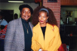 Eugene Redmond with Terry McMillan