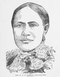 Frances E.W. Harper. Temperance Lecturer and Authoress