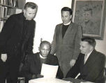Clergy leading Civil Rights Movement in churches
