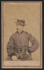 [Major General Philip Sheridan of 13th Regular Army Infantry Regiment and 2nd Michigan Cavalry Regiment, in uniform]