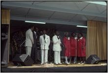 Atlanta, Georgia, 1988: National Black Arts Festival. Wiregrass Sacred Singers