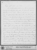 Report of Colonel O.H. Howard: [Albany, Georgia], 1868 Sept. 19