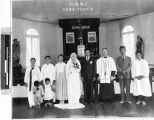 Wedding party, Kokai, Korea, ca. 1930-1950