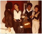 """[Reunion of former """"Sweethearts"""" band members in Kansas City : color photoprint.]"""
