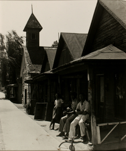 Three People on the Porch