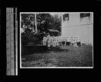 Student organization at St Mary's school, Shanghai, China, ca.1922