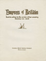 Althea Hurst scrapbook, 1938. Page 79-80. Empress of Britain commemorative booklet Empress of Britain : lost in action in the service of her country, October 28, 1940