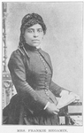 Mrs. Frankie Hegamin; Chicago; One who has given all life to the uplifting of her race