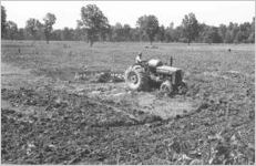 African-American man on tractor 2