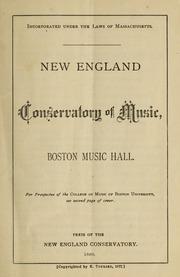 New-England Conservatory of Music, Boston Music Hall, 1880