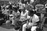 Cosby star at Black Family Reunion, Los Angeles, 1989