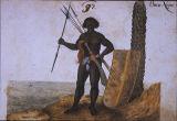 Omem Negro [Negro Man], from Thierbuch