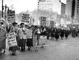 Protest against Philadelphia Transportation Company