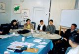 Church leaders in meeting with JCS Board Kirkeledere til møde med JCS's bestyrelse