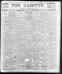 The Gazette. (Raleigh, N.C.), Vol. 9, No. 24, Ed. 1 Saturday, July 31, 1897 The Gazette The Weekly Gazette