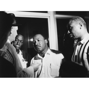 Martin Luther King, Jr. (with Floyd McKissick)