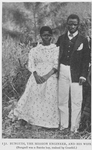 Bugidi, the mission engineer, and his wife. [Bakundi was a Bateke boy, trained by Grenfell.]