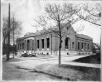 Hough Branch 1907: Carnegie building exterior