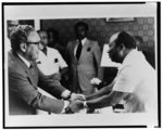 Photographs of news events and people from the papers of journalist Ethel L. Payne