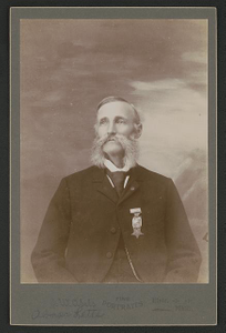 [Civil War veteran Abner Letts]