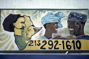 Fashion Afrique, 4281 S. Crenshaw Blvd., LA, 1997
