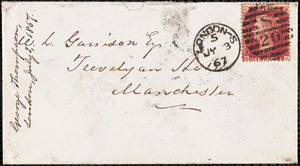 Letter from George Thompson, South Lambeth, [London, England], to William Lloyd Garrison, 1867 July 3