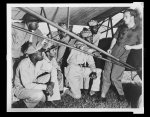 Thumbnail for Tuskegee adds training program Introducing a group of student officers to the new liaison plane at the Tuskegee Army Air Field is Second Lieutenant Curry, liaison instructor.