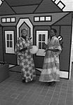 NMAfA Volunteers in African Dress