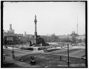 [Soldiers' and Sailors' Monument, Cleveland, Ohio]