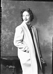 Miss Freddie Washington, No. 39 [holding cigarette, close-up half-length view : acetate film photonegative and 1 contact print, ca. 1930-1940.]