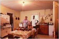 Preserves in the Anderson Household Kitchen, Ocilla GA, 1977