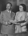 Capers, Jean Murrell 1947 with Clifford Capers