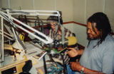 Quincy Troupe giving a radio interview (2 of 2)