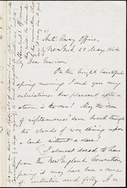Letter to] My Dear Garrison [manuscript