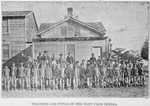 Teachers and pupils of the Hart Farm School; [The Hart Farm School and Junior Republic for the mental. Moral, industrial, agricultural and civic training of dependent Colored boys.]