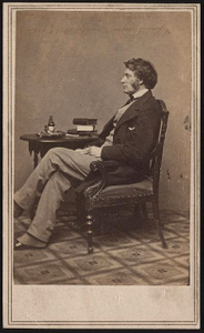 [Charles Sumner, abolitionist, orator, and senator from Massachusetts]