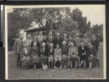 Group portrait of missionaries in China, Fujian, China, ca. 1935