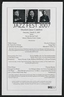 Jazz Fest 2007, Student Jazz Combos