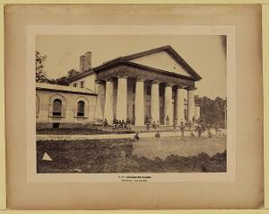 Arlington House, east front, June 28, 1864