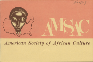 American Society of African Culture