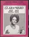 Clara Ward, 1925-1973: memorial tribute (Gospel News Journal, v. 8, no. 4-5, 1973)